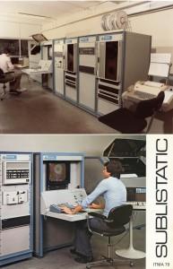 Scitex R-200 first European instllation system 1975